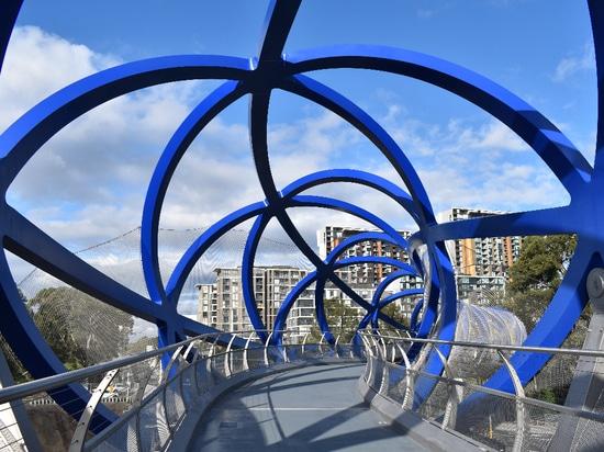 Pont de la ligne de Lachlan, Sydney, Australie