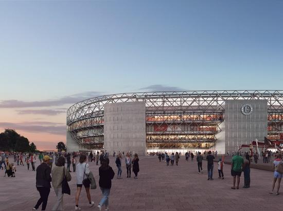 L'OMA dévoile le design du stade de Feyenoord