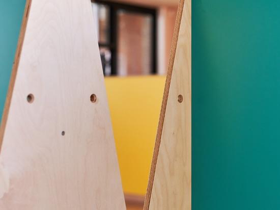 UNIT Fabrications construit des meubles de distanciation sociale pour une école primaire de Londres