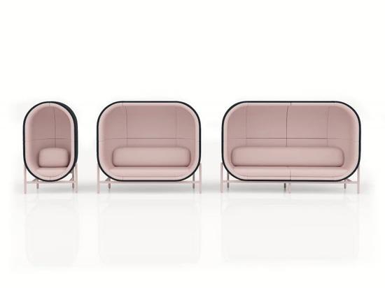 La chaise capsule insonorisante imagine une nouvelle réalité de bureau après COVID-19
