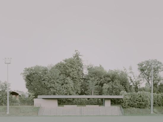 Abri pour le stade municipal / Didonè Comacchio Architectes