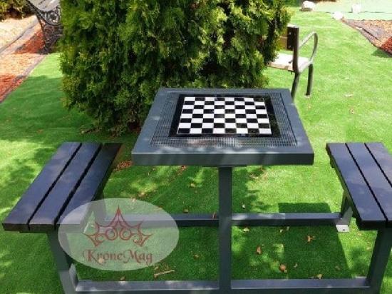 La table du parc est mise CAMPINA DUO