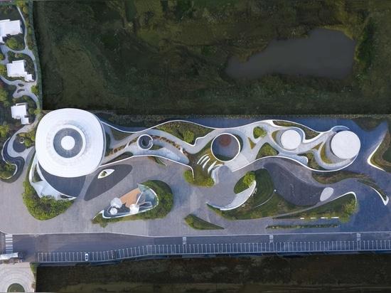 OCT - Vanke Waterfront City, le quai flottant / Bureau nordique d'architecture