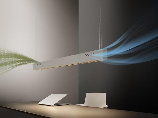Pure BioAir, une lampe d'Olev qui assainit les intérieurs.
