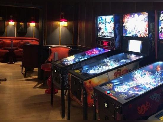 Une salle de jeux originale au Palace Hôtel La Mamounia à Marrakech