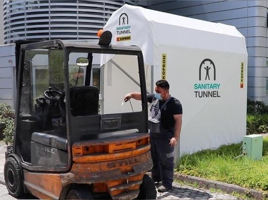 Le 1er tunnel en PVC pour l'assainissement des personnes et des choses