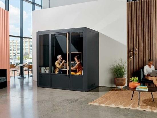 ROOM lance de nouvelles salles de réunion modulaires pour l'espace de travail moderne