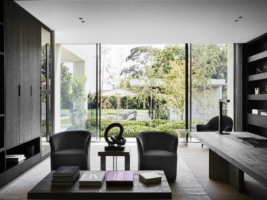 Une maison contemporaine de Melbourne s'inspire des villas-jardins européennes