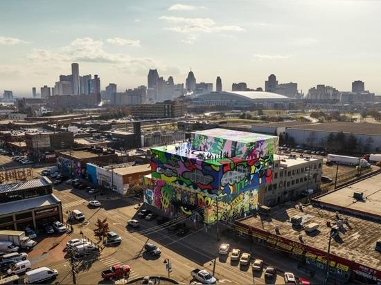 Le nouveau bâtiment en verre du MVRDV dans le marché de l'Est de Detroit est une lettre d'amour à la ville