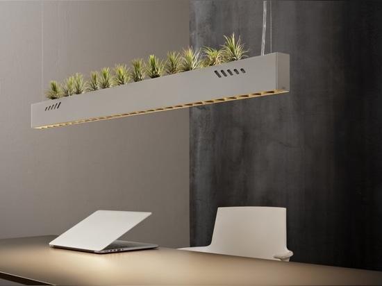 Pure BioAir, une lampe d'Olev qui assainit les intérieurs
