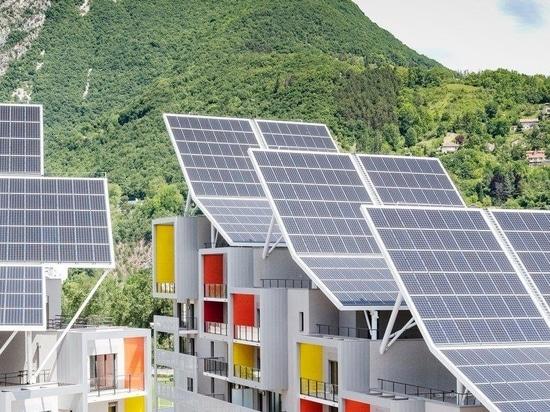 Valode & Pistre envisage un complexe résidentiel autonome pour Grenoble, France