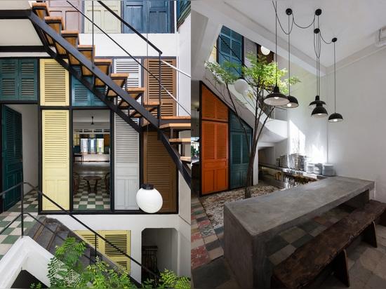 Non seulement peuvent les invités commander le jour sur chaque plancher avec cette configuration, mais également la ventilation. Lisez plus : Le Vietnam ? la Chambre de Vegan de s est couverte de h...