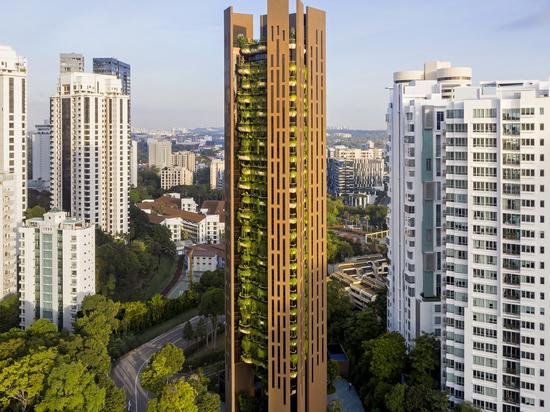 EDEN Singapour Appartements / Studio Heatherwick
