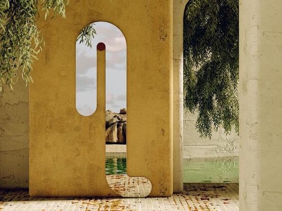 Les miroirs et les meubles semblent fondre dans la dernière collection des studios Bower