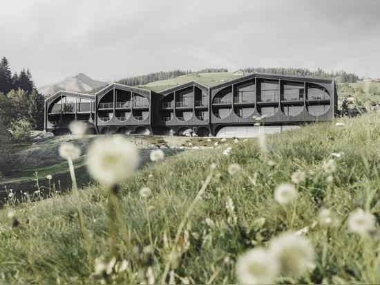 Un hôtel radical du Tyrol du Sud redéfinit l'architecture alpine