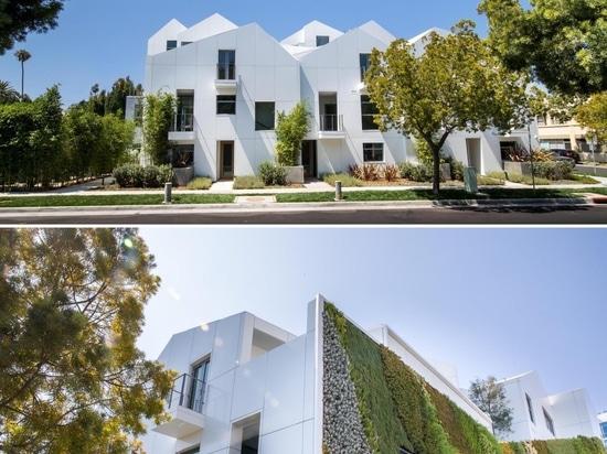 Cet immeuble a été conçu pour ressembler à un village moderne à flanc de colline