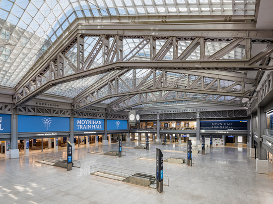 Salle des trains de Moynihan / SOM