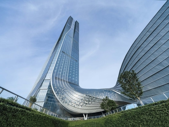 Centre financier international de Hengqin / Aedas