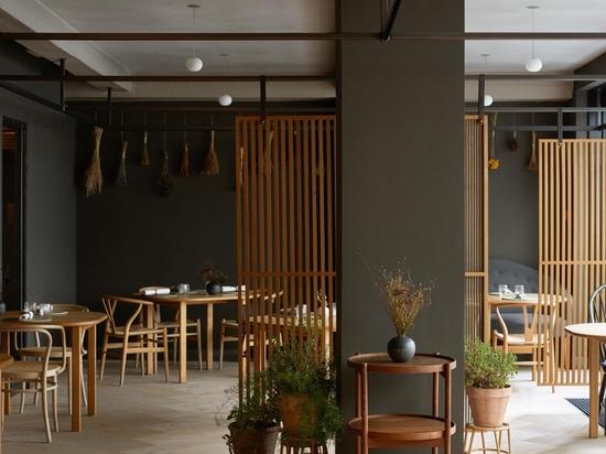 Restaurant Kadeau Copenhague.