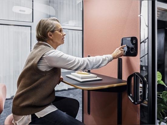 Framery lance le premier stand acoustique entièrement connecté sur le marché