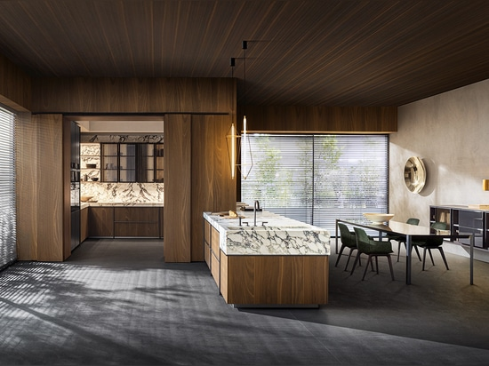 La collection de cuisines et de salles à manger Ratio de Molteni, conçue par Vincent Van Duysen.