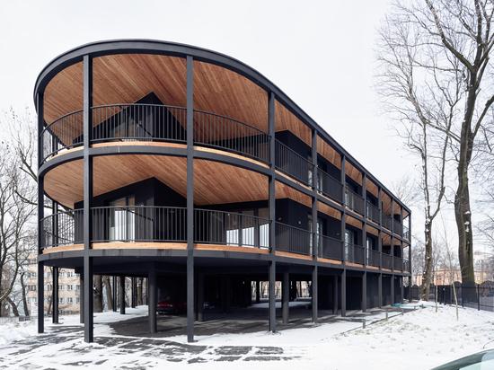 Villa Reden Apartments / Architecte Maciej Franta