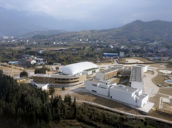 Complexe du musée du grès de YingYao / a9architects