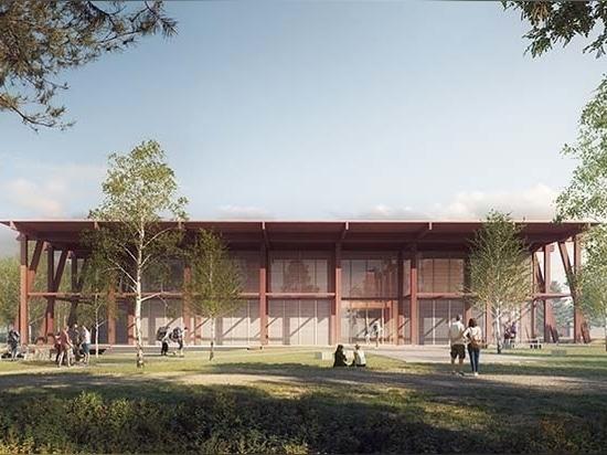 Aleksander Wadas dévoile un projet de musée national de l'exploitation forestière et de centre de compétences pour les zones humides en Norvège