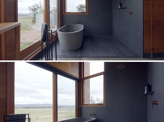 Cette petite maison en forme de coin a été conçue pour être une propriété unique sur Airbnb