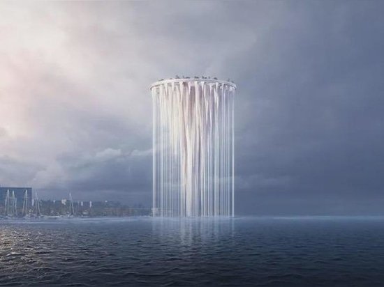 """La tour éthérée de Sou Fujimoto verra 99 """"îles"""" flotter au-dessus de la baie de Qianhai à Shenzhen"""