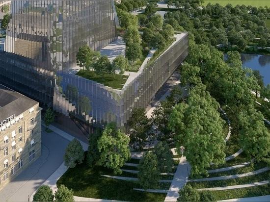 Snøhetta conçoit le duett Düsseldorf, un nouvel opéra et un centre culturel au cœur de la ville
