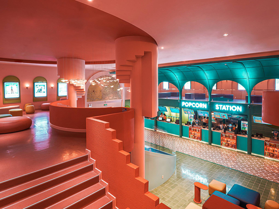 La société vietnamienne d'aménagement intérieur Module K a terminé son premier cinéma.