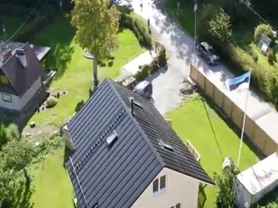 Toiture solaire intégrée au bâtiment