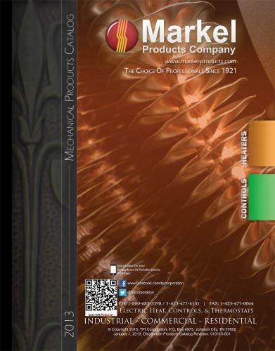 Mechanical Heat Catalogue: Heaters - Controls