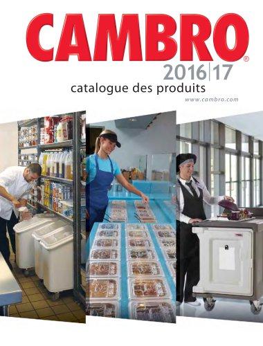 CAMBRO 2016|17 catalogue des produits