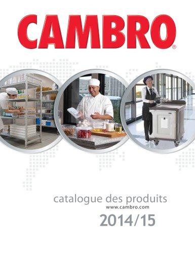 Catalogue des produits 2014/15