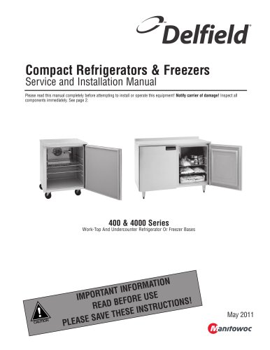 Compact Refrigerators & Freezers