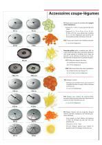 Combi coupe-légumes - cutter - 6