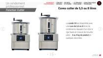 Combi Coupe-légumes + cutter - 15