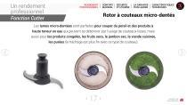 Combi Coupe-légumes + cutter - 17