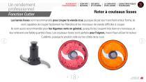 Combi Coupe-légumes + cutter - 18