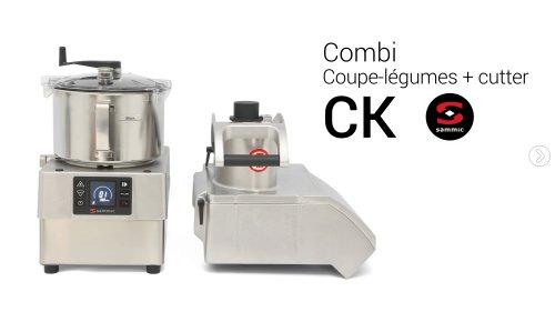 Combi Coupe-légumes + cutter