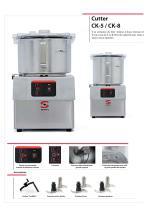 Cutters et émulsionneurs CK-CKE - 6