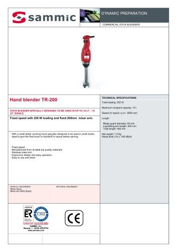 Hand blender TR-200