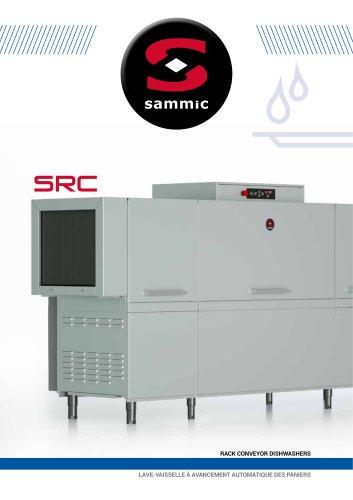 Lave-vaisselle à avancement automatique des paniers SRC