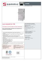 Lave-vaisselle SL-1100 - 1