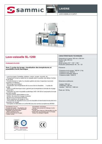 Lave-vaisselle SL-1200