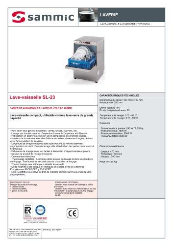 Lave-vaisselle SL-23