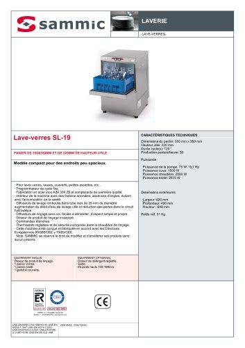 Lave-verres SL-19