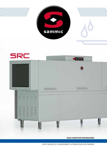 SRC rack conveyor diswasher